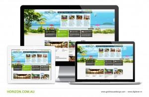 Horizon Travel website