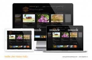 Tranh Theu website