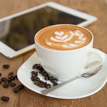 Thiết kế app business Purio Coffee