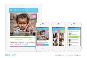 LOLA charity app