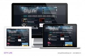 CityLife website
