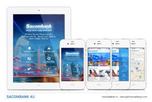 Sacombank4U app