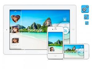 DualCam mobile app